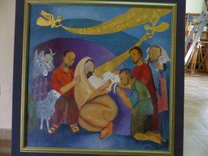 Noël, un événement né en Orient en Palestine et Israël, est célébré aux quatre points de la planète (© DR monastère Sainte Lioba/Simiane)