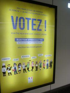 Les élections des représentants syndicaux des salariés des entreprises de moins de 11 persones se termineront le 13 janvier. Elles s'adressent à près de 5 millions de personnes (© Pierre Nouvelle).
