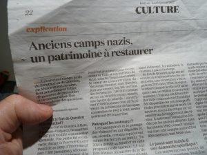 Les camps de Queuleu et du Struthof furent utilisés par les nazis pour interner des résistants parmi lesquels des Alsaciens-Lorrains (© Pierre Nouvelle).