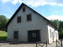 Dans le seul camp de concentration sur le territoire français annexé par l'Allemagne, les nazis avaient aussi implanté une chambre à gaz (© DR).