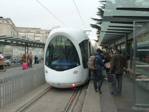 avec un million et demi de voyageurs par jour, le réseau des transports collectifs publics de Lyon et du Rhône est le premier en région après le réseau d'Ile-de-France en terme de fréquentation (© Pierre Nouvelle).