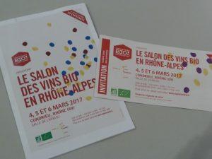 D'Auvergne en pays de Savoie, le salon des vins bio se veut être le reflet de pratiques nouvelles en matière agricole (© Pierre Nouvelle)