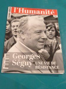 Depuis son adolescence, Georges Séguy fut un militant syndical et politique convaincu. Cet engagement de résistance lui valut d'être déporté à Mauthausen (© Pierre Nouvelle).