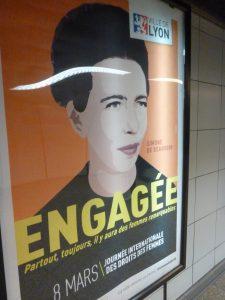 Résistante ou femme d'engagement féministe comme Lucie Aubrac ou Simone de Beauvoir, elles ont ouvert la voie pour le combat pour le droitv des femmes (© Pierre Nouvelle).