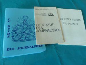 Au fil des années, le SJF, l'USF, l'USJ ont multiplié les guides pour venir en aide aux collègues (© Pierre Nouvelle).