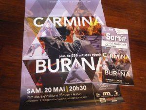 Autun aura la primeur du concert Carmina Burana. Un évènement dans la pysage bourguignon où cette sera jouée pour la deuxième fois en dix ans (© Pierre Nouvelle).