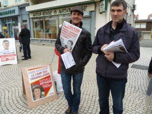 Entre extrême-gauche et extrême-droite la palette des candidat-e-s à la responsabilité de député-e sera fort disputé lors des élections de juin prochain (© Pierre Nouvelle).