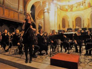 Avec pas moins de vingt concerts par an, notamment dans les services hospitaliers, l'ensemble OHCL regroupe un orchestre t un chœur qui compte sur la scène culturelle lyonnaise par la qualité de ses interprétation et la diversité de son répertoire (© Pierre Nouvelle).