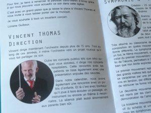Chef d'orchestre et chef de chœur Vincent Thomas excelle à la tête de ces deux ensembles qu'il fera se produire de concert en mai et juin dans Carmina burana (© Pierre Nouvelle).