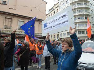 Quel rapport à l'Europe, tel est aussi la question qui se pose dans l'affrontement entre les deux candidats du second tour de l'élection présidentielle (© Pierre Nouvelle).