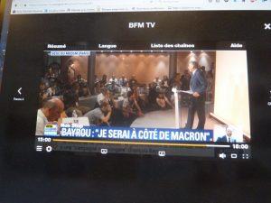 C'est à l'occasion d'une conférence de presse que le Garde des sceaux a choisi de rappeler la médias à l'ordre (© Pierre Nouvelle).