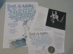 Dans la Forêt des taliths souffle la pluralité des spiritualités (© Pierre Nouvelle).