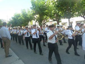 Le cours Romestang à Vienne (Is_re) offre un bel espace pour une déambulation comme celle du défilé du 14 juillet (© Pierre Nouvelle).