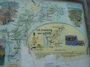 A vélo ou à pied , on peut prendre le bord de Loire ou le chemin de Compostelle... (© Pierre Nouvelle).
