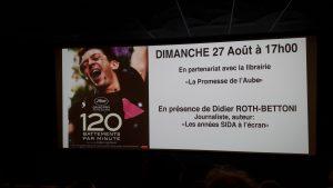 vant sa rénovation, le cinéma autinois Arletty a accueilli une nouvelle projection-débat (© Pierre Nouvelle).