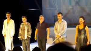 C'est au théâtre Jean Marais à Saint-Fons (Rhône) qu'avec Don Juan, le metteur André Fornier a livre la dernière mise en scène de sa carrière (© Pierre Nouvelle).
