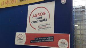 la suppression par la région Auvergne-Rhône-Alpes et son président laurent Wauqiez de suventions aux associations éducatives, sociales, humanitaires et de solidarité a été ramatique pour un grand nombre d'entre elles comme à Lyon le CADR (© Pierre Nouvelle).