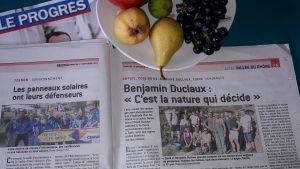 Sur un terroir limité à trois communes, le vignoble de Côte-Rôtie reste souvent une affaire familiale (© Pierre Nouvelle).