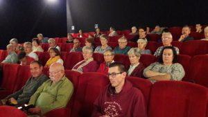 Une centaine de personnes ont participé à la 3e édition du festival oecuménique de cinéma dans la salle du Ciné Pilat à Pélussin (© Pierre Nouvelle).