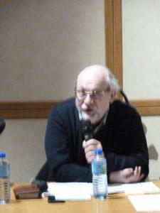 Pour Joël Decaillon,vice-président du la boratoire Lasaire et membre du Forum social européen il ne faut pas céder à la simplicité et au schémqtiqme quand on parle de la CGT (© Pierre Nouvelle).