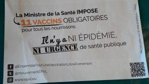 Rien ne justifie en mayière de santé que des nourrissons se voient attribuer des vaccination supplémentaires (© Pierre Nouvelle).