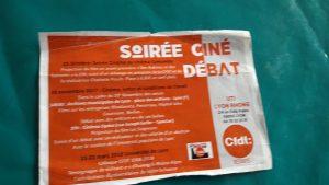 Après le film Des Bobines et des hommes projeté en avant-première le 23 octobre 2017 au cinéma Comoedia de Lyon, ce sont des flms dont elle est partie prenante que la CFDT proposera à visionner mercredi 29 novembte aux archives municipales de Lyon et au cinéma Opéra (© Pierre Nouvelle).