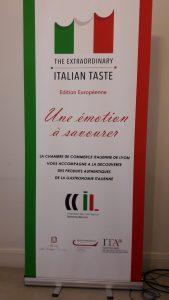 La Chambre de commerce italienne à Lyon relaie la campagne d'information et de promotion lancée par le ministère italien de l'économie (© Pierre Nouvelle).
