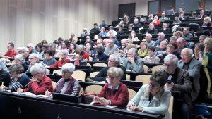 Revendiquer, manifester et être acteur du dialogue social : une ligne de crête dont les participants au colloque lyonnais de l'Institut CGT d'histoire sociale (© Pierre Nouvelle).