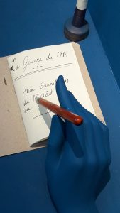 Entre septembre 1914 et novembre 1918, Barthélémy Mermet a déroulé un éphéméride où sont détaillées la place des femmes dans les usines, la solidarité de la population avec les soldats au repos ou blessés en soin dans les hôpitaux lyonnais (© Pierre Nouvelle).