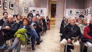 Le 21 novembre 2017 à la mairie du 4e arrondissement de Lyon, on a fait le plein de public autour du grand débat consacré à l'Humain, le travail et la cité, th_me général de l'édition 2017 de ce 10e festival culturel (© Pierre Nouvelle).