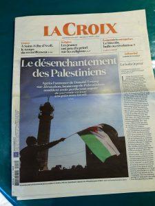 En 2018, alors qu'Israël fêtra son 70e annibversaire, peut-on espérer que l'hoizon du peuple palestinien s'éclaircisse ? (© Pierre Nouvelle/La Croix).