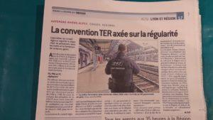 """L'opposition PS-PRG-PCF estime que la nouvelle convention Région Aur-SNCF n""""apporte rien de plus aux relations précédentes entretenues entre la collectivité régionale et l'entreprise ferroviaire (© Pierre Nouvelle)."""