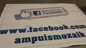 On peut suivre l'activité annuelle d'Ampuis Mozaïk sur lapage Facebook de l'association (© Pierre Nouvelle).