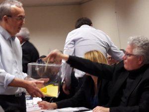 Quelque 51 représentants des 30 communes ont élu les vice-présidents de cette nouvelle assemblée (© Pierre Nouvelle).