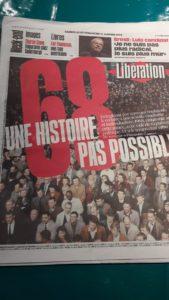 Cinquante ans après le mouvemnt de mai-juin 68, il n'est pas initile de se pecher sur le déroulement de ces événements, mais aussi sur la suite durant le demi-siècle qui a suivi (© Pierre Nouvelle).