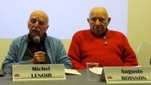 De Berliet-Vénissieux à la Rhodiacéta de Lyon-Vaise, Michel Lenoir et Augiste Boisson ont été des militants CFDt très actifs durant les grèves de l'année 1967 entre Rhône-et-Saône (© Pierre Nouvelle).