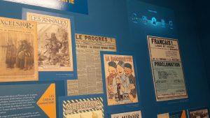 Aux cotés des carnets de Barthélémy Mermet trésor exceptionnel donns aux archives municipales de Lyon, les journaux édités entre 1914 et 1918 sont aussi de vibrants témoins de cette histoire (© Pierre Nouvelle).