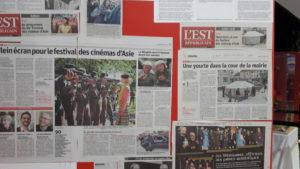 Le quotidien régional participe à la popularisation du festival dans tout l'Est de la France (© Pierre Nouvelle).