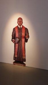 A l'instar du leader que fut Martin-Luther King, Robert Vial n'a jamais mis sa foi dans sa poche (© Pierre Nouvelle).