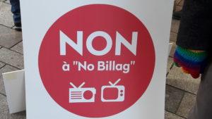 La population suisse a le regard tourné vers la dte du 4 mars et l'inititive populaire contre la redevance audiovisuelle lancée par les jeunes conservateurs du parti libéral-radical et de l'UDC (© Pierre Nouvelle).