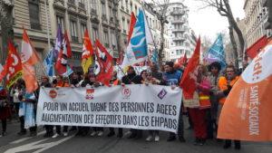 La dimension unitaire et intersyndicale n'a pas été sans répercussion sur la mobilisation et l'echo rencontré par ce mouvement social (© Pierre Nouvelle).
