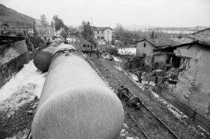 Trente ans après la catasytrophe ferroviaire de Chavanay, la mémoir de cet événement est encore dans toutes les mémoires (© Pierre Nouvelle).
