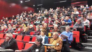 La veille du 50e anniversaire du 22 mars 1968, l'Université de Lyon a accueilli un colloque qui a accompli un retour sur un demi-siècle d'histoire économique et sociale (© Pierre Nouvelle).