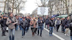 Plusieurs dizaines de milliers de personnes dans les rues de Paris, Lyon, Bordeaux... ont marché en solidarité avec Mireille Knoll, et contre un antisémitisme qui ne se cache plus (© Pierre Nouvelle).