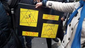 Après la shoah, après des meurtres répétés sur le sol français, après Charlie Hebod et l'Hyper casher, on peut aujourd'hui encore être assassiné en France parce qu'on est juif-ve (© Pierre Nouvelle).