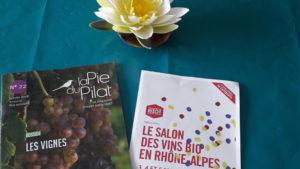 Du 3 au 5 mars 2018, trois jours non-stop pour découvrir des vins auvergnats et rhonalpins produits dans une démarche biologique (© Pierre Nouvelle).