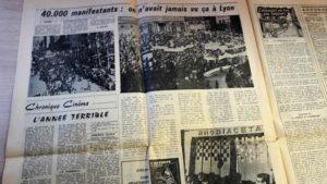 De la grande manif étudiants-ouvriers du 13 mai au barricafes de la plac des Cordeliers le 24, les photos n'ont pas manqué (© Pierre Nouvelle).