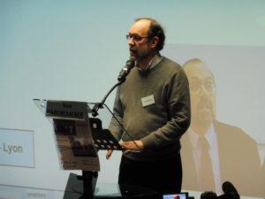 Le professeur Yves Krumenacker a coordonné le livre CFDT 1968-2018 est le directeur éditorial de cet ouvrage coordonné aussi par le journaliste Jean-François Cullafroz (© Bernard Labas).