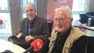 En mai-juin 1968, Etienne Fouilloux enseignait l'histore à paris, tan,dis que Jean-François Cullafroz terminait ses études à l'Ecole normale d'instituteurs de Lyon. Au micro de RCF Auvergne-Rhône-Alpes, ile 14 mai 2018, ils ont livré leurs souvenirs (© Pierre Nouvelle).