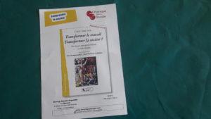Le livre CFDT 1968-2018 balaie un demi-siècle d'histoire sociale, sociétale, économique et politique en Rhône-Alpes, déroulement resitué das le cadre hexagonal (© Chronique sociale/Pierre Nouvelle).